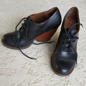 KORK-EASE ankle booties Estella Oxford 6.5 leather